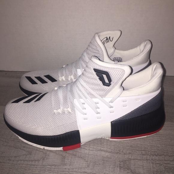 Schuhe adidas Damian D Lillard 3 Rip City Herren Sneaker